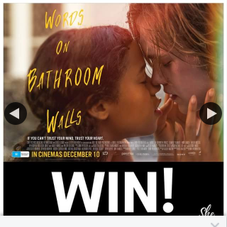 SheSociety – Win Double Passes to See Words on a Bathroom Wall