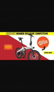 Stack magazine – Win One of Three Himo Electric Bike Z20s