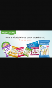 Tell Me Baby – Win One of 5 Kiddylicious Packs Worth $150