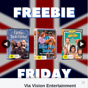 Via Vision Entertainment – Win a British Comedy DVD 3-pack