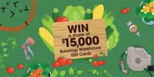 Pope – Win a share of 15,000 Bunnings warehouse gift cards