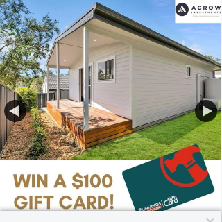 Acrow Investments – Win $100 Bunnings E