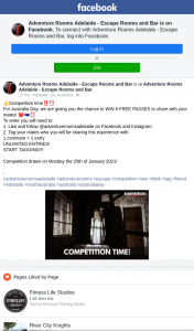 Adventure Rooms Adelaide – Win 6 Free Passes to Share With Your Mates