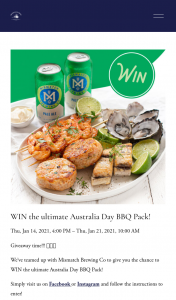 Angelakis Bros – Win The Ultimate Australia Day Bbq Pack (prize valued at $480)