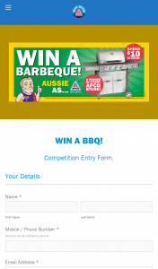 APCO Service Stations – Win a Barbeque Competition (prize valued at $499)