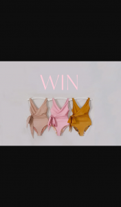 BAIIA Swimwear – Win 1 of 3 $150 Gift Cards Open Worldwide (prize valued at $450)