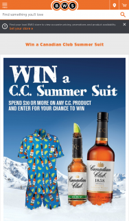 BWS – Win a Canadian (prize valued at $125)