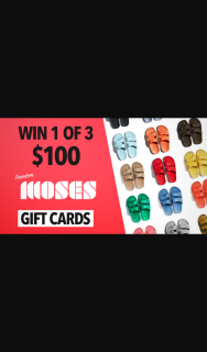 Channel 7 – Sunrise – Win $100 Gift Cards From Freedom Moses