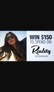 Channel 7 – Sunrise – Win $150 to Spend on New Glasses From Reality Eyewear