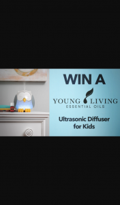 Channel 7 – Sunrise – Win Young Living's Newest and Cutest Essential Oil Diffuser Yet In this Week's Sunrise Family Newsletter