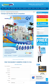 Chempro Ego QV – Win 1 of 5 Family Escapes to Paradise Resort (prize valued at $5,685)