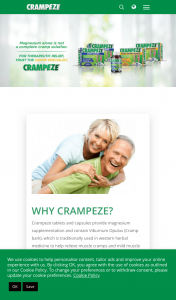 Crampeze Purchase a Crampeze product & take the 14 day challengeto – Competition (prize valued at $5,000)