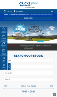 Cricks Highway Springwood QLD – Purchase a New Vehicle to – Win $25000 Cash^ (prize valued at $25,000)