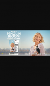 Dendy Cinemas – Win a Double Pass to See Penguin Bloom