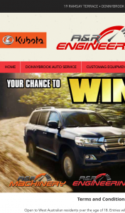 Donnybrook Auto Services – Win a Chance of Either Winning a Toyota Landcruiser and Cash to The Value of $100k Or $100k Cash Or $2k Cash (prize valued at $100,000)