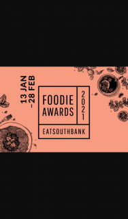 eatSouthBank – Win a Year's Worth of Dining and Parking at South Bank