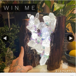 Elemental Formations – Win this Magnificent Cool Light Chi Generator Mega Macro Lamp (prize valued at $1,155)