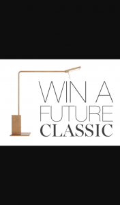 est Living – Win a Roy Tavolo Table Lamp By Mario Nanni for Viabizzuno (prize valued at $2,385)