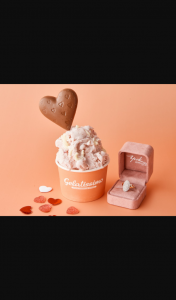 Gelatissimo – Win a Diamond Ring for Valentine's Day (prize valued at $4,000)