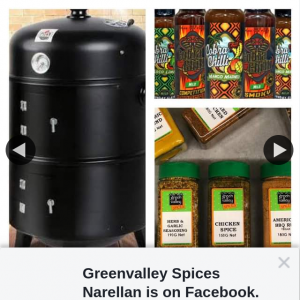 Greenvalley Spices Narellan – Win this Bbq