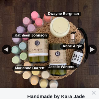 Handmade by Kara Jade – Win this Package