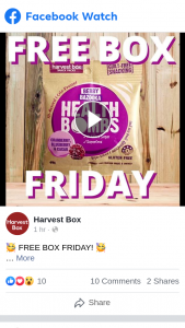 Harvest Box – Win a Whole Box of Our Berry Bazooka Health Bombs