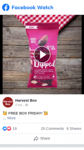Harvest Box – Win a Whole Box of Our Dipped Raspberry Dark Choc Coated Almonds