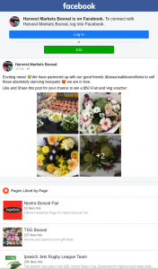 Harvest Markets Booval – Win a $50 Fruit and Veg Voucher (prize valued at $50)