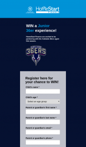 HomeStart Finance – Win a Family Pass of 4 X Ga Tickets to One of The Above Games