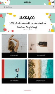 Jakk & Co – Win a Surfcoast Experience From Jakk & Co We Love The Surfcoast So Much (prize valued at $500)