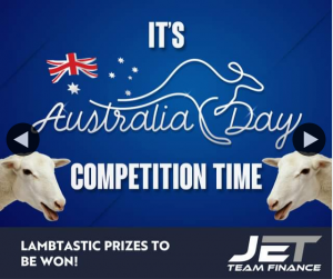 Jet Team Finance – Win a Meat Tray for Australia Day Must Collect (prize valued at $120)
