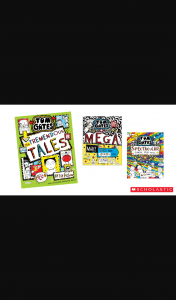 Kzone – Win a Tom Gates Book Pack (prize valued at $1,019)