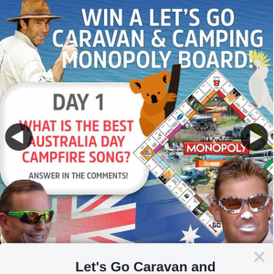 Let's Go Caravan & Camping – Win a Monopoly Game