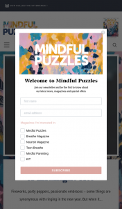 Lovatts MINDFUL PUZZLES Solve & – These Prizes (prize valued at $879)