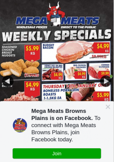 Mega Meats Browns Plains – Win a $200 Voucher