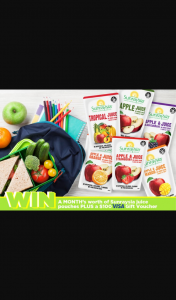 Mouths of Mums – Win a Back to School Hamper