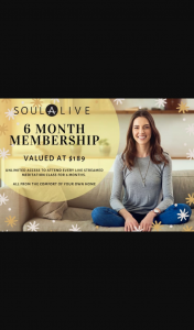 Mouths of Mums – Win 1 of 5 Six Month Soul Alive Meditation Memberships (prize valued at $189)