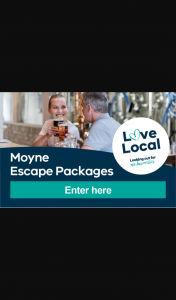 Moyne Shire – Win an Escape Package to Explore The Moyne Shire (prize valued at $10,000)
