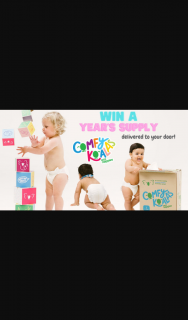 Mum Central – Win 12 Months Supply of Comfy Koalas Eco Nappies (prize valued at $1,115.4)