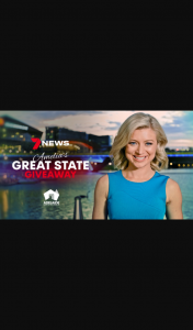 7NEWS – Win a $2000 South Australian Stay (prize valued at $2,000)