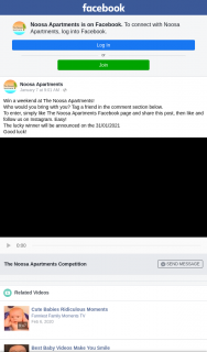 Noosa Apartments – Win a Weekend at The Noosa Apartmentswho Would You Bring With You