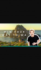 NOVA – Win 1 of 5 Trips to Wander Out Yonder In Wa (prize valued at $25,000)