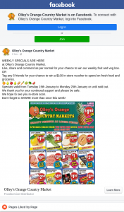 Olley's Orange Country Market – Win Our Weekly Fruit and Veg Box