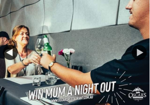 Oscars Restaurant – Win Mum a Night Out