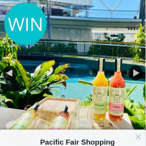 Pacific Fair Shopping Centre – Win 1 of 5 Mr Consistent Cocktail Gift Packs