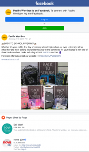 Pacific Werribee – Win One of Three Back-To-School Packs Including a $100 Shoex Voucher