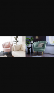 Pak Mag – Win a Diy Decorator Chantal Scallop Velvet Chair (prize valued at $304)