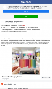 Peninsula Fair – Win a $100 Kmart Gift Card