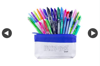 Pilot Pen – Win this Fabulous Pencil Case Packed With Frixion Pens