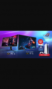 Purchase participating ASUS Monitor to – Win a Sony Playstation 5